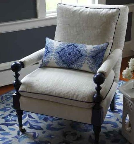 Arm chair: Comfortable Chairs, Chair Luv, Arm Chair Want, Chair Fabric, Chic Armchairs, Gorgeous Chairs, Chair Crush