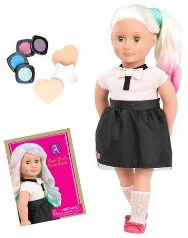 Our Generation Deco Doll - Amya Chalk Hair