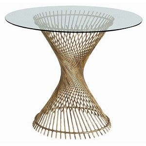 Pascal Iron/Glass Entry Table
