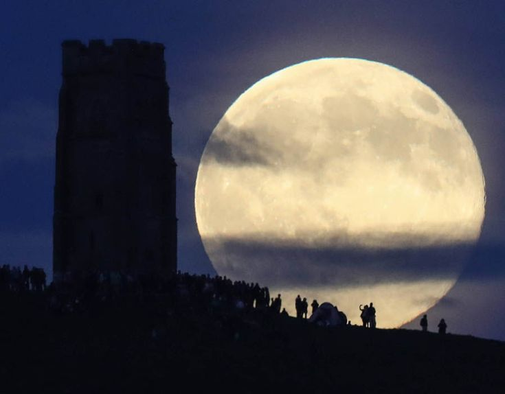 The strawberry moon is a name given to the full moon in June by Native Americans because it marks the beginning of strawberry picking season. It will not happen again on the summer solstice for another 46 years until June 21, 2062.