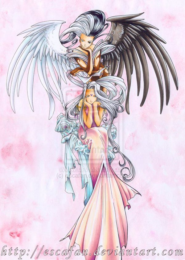 Urd and her angel World of Elegance
