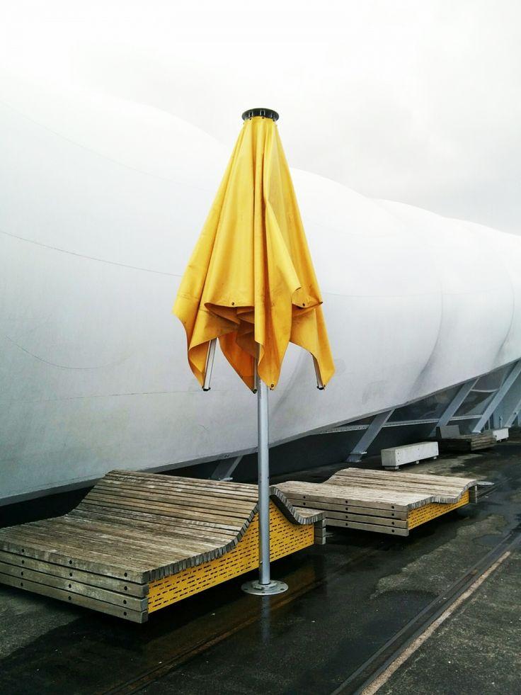 The #yellow #umbrella. #auckland #VSCOcam