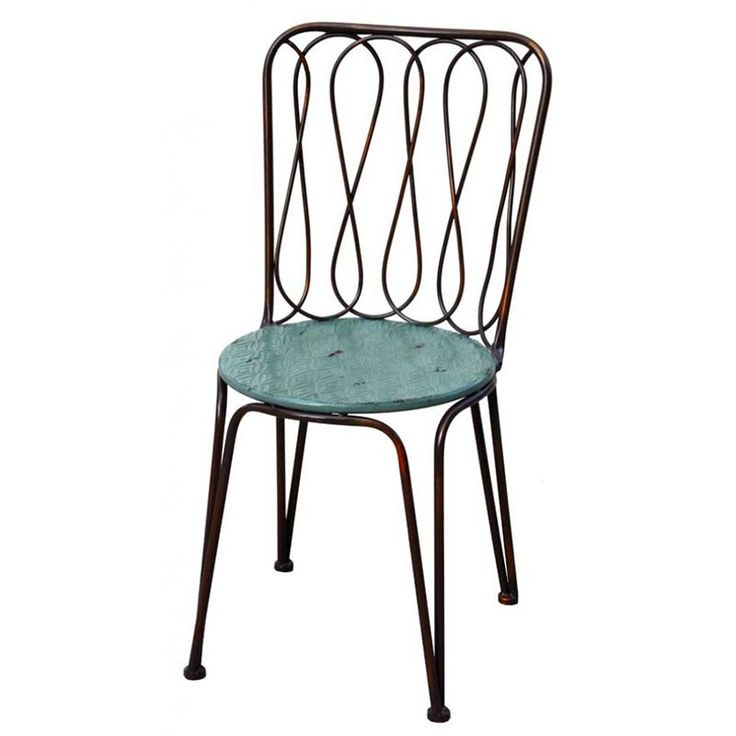 Turquoise Thyme Chairs - Dining Chairs Online Australia --------------------------------------------- Comfortable Set of 2 metal chairs with Turquoise seat. Has a matching table which if bought as a 3 piece works out cheaper. ----- #diningroomchairs, #diningchairs