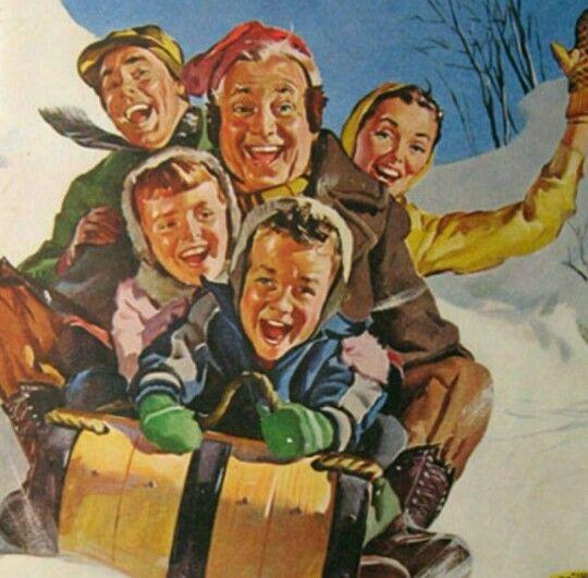 Snow & family