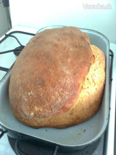 Chlebík pečený s láskou (fotorecept)