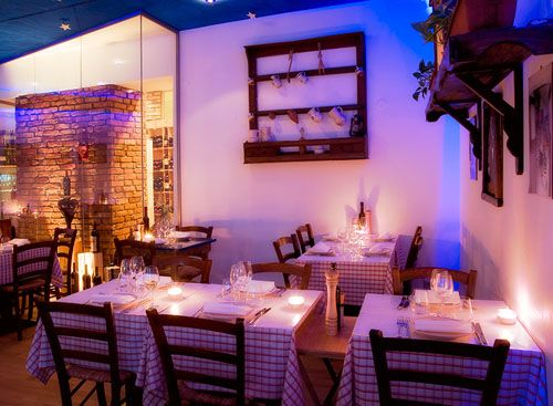 Al Contadino Sotto Le Stelle, relaxte en lekkere Italiaan.   Auguststrasse 36 - Mitte. Check alcontadino.eu/restaurant/