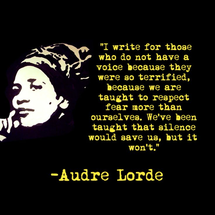 audre lorde sister outsider essays