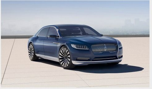 Lincoln Continental Concept Shows the Future of Quiet Luxury and Upcoming Full-size Sedan   Business Wire