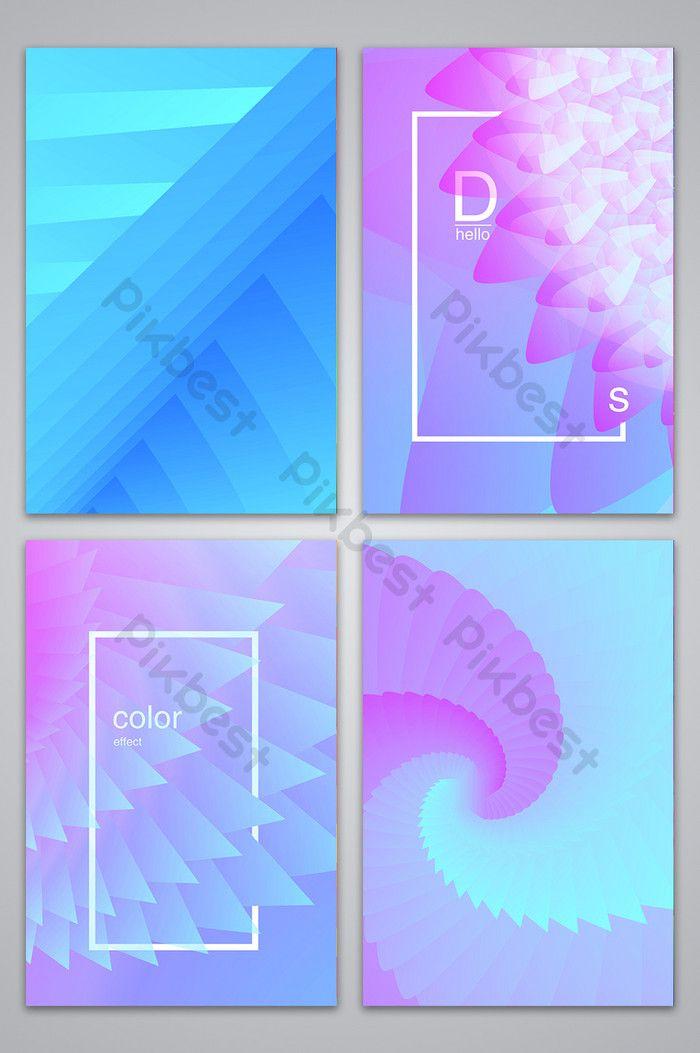 خلفية هندسية ملونة تصميم الإعلان خلفيات Psd تحميل مجاني Pikbest Advertising Design Sign Design Background Design