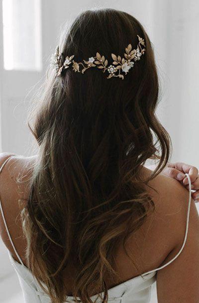LIBERTE | organic floral headpiece
