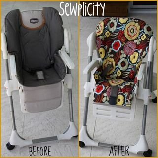 Pattern For Baby High Chair Cover Sewing Patterns For Baby