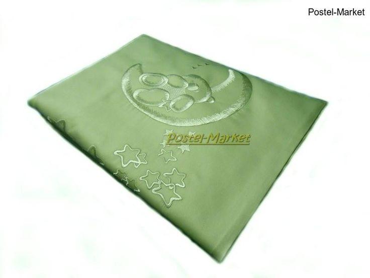 Постельное белье Ведмедик Руно сатин в кроватку зеленое купить в интернет магазине Постель Маркет (Киев, Украина)