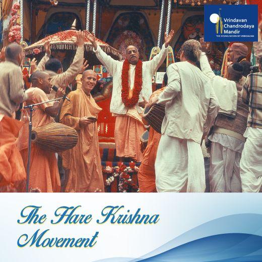 #SrilaPrabhupada took the holy names of #LordKrishna all over the world & established the #HareKrishnaMovement.