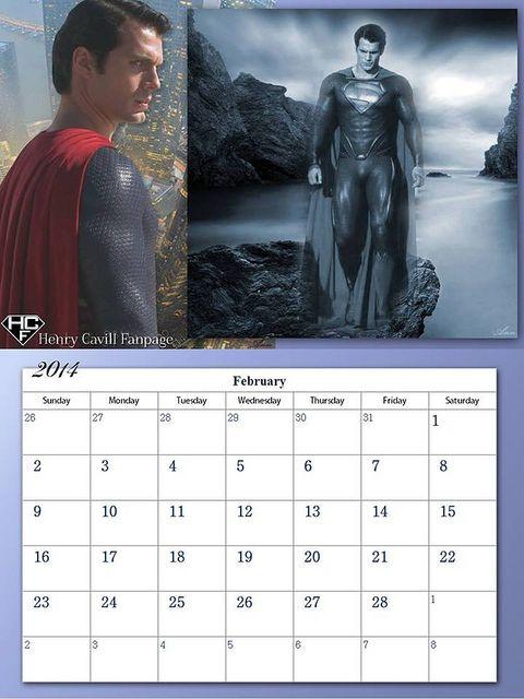 Henry Cavill Fanpage 2014 Calendar - February | Flickr - Photo Sharing!