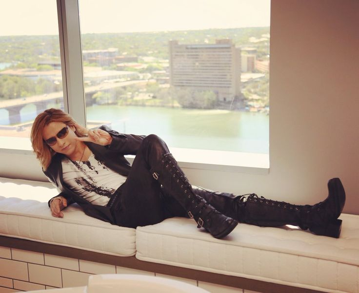 "Yoshiki on Twitter: ""I'm in #Austin #Texas at #SXSW doing interviews! I'll be on #reddit and #twitter soon! https://t.co/BPlK8U5CHw"""