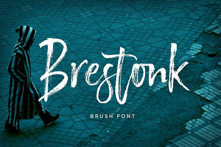 Brestonk Brush Font Beautiful Script Fonts Creative Fonts