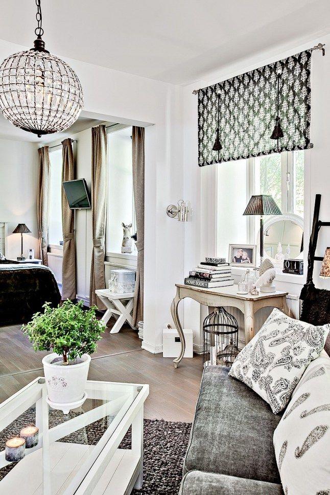 Casinha colorida: Um apartamento escandinavo que todas as mulheres gostariam de…