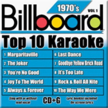 Where were some of the top Billboard hits of the 1970s?