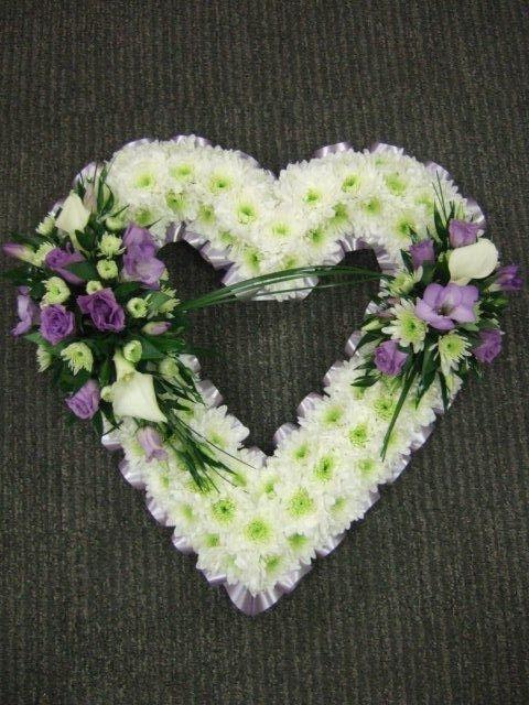Open heart funeral arrangement - Bing Images | Sympathy ...