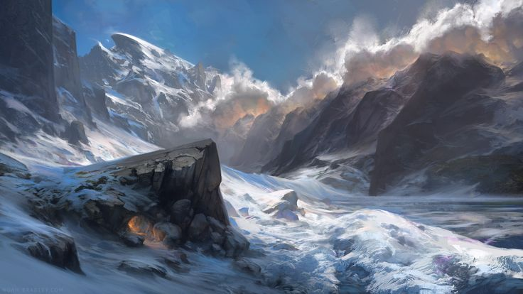 A Place to Call Home by Noah Bradley | Fantasy | 2D | CGSociety