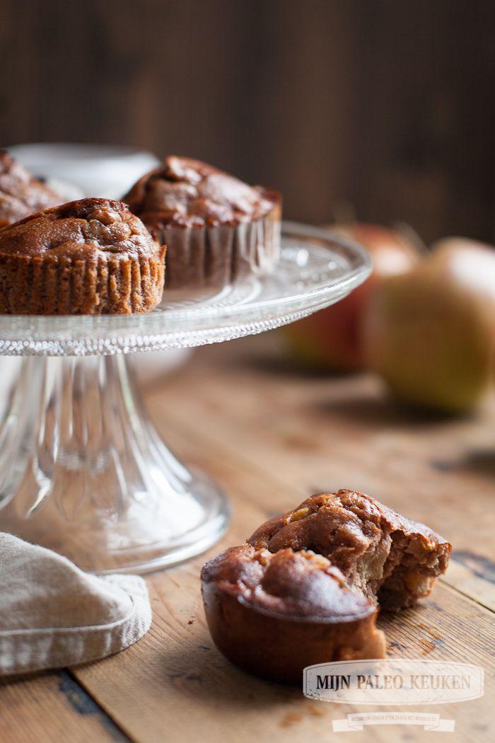 Paleo appeltaart-muffins