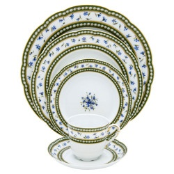 Marie Antoinette by Bernardaud; my absolute favorite pattern.