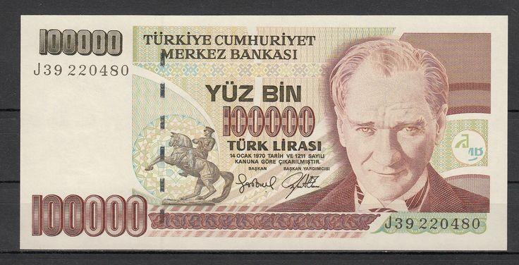7.EMİSYON 3.TERTİP 100000 LİRA J39 2200480