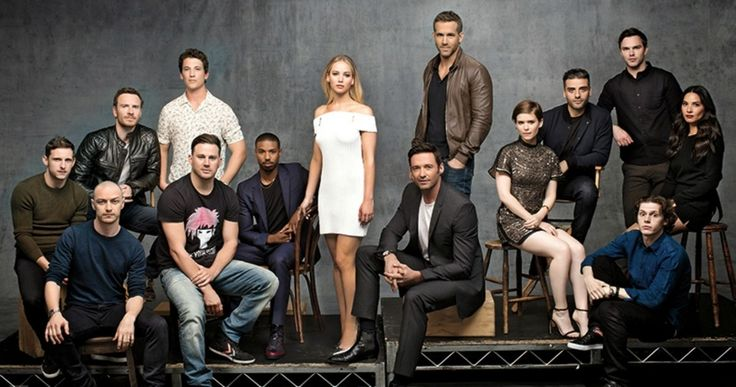 'X-Men', 'Deadpool' & 'Fantastic Four' Join Forces in Cast Photo -- 20th Century Fox brings together the casts from it's upcoming Marvel movies including 'Deadpool', 'X-Men', 'Gambit' and 'Fantastic Four'. -- http://movieweb.com/x-men-deadpool-fantastic-four-movie-cast-photo/