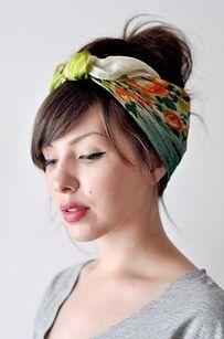 Wenn Deine Haare mal keinen guten Tag haben, steck sie in einen h�bschen Turban oder Schal. | 41 Sch�nheits-Tipps, die perfekt sind f�r faule Frauen