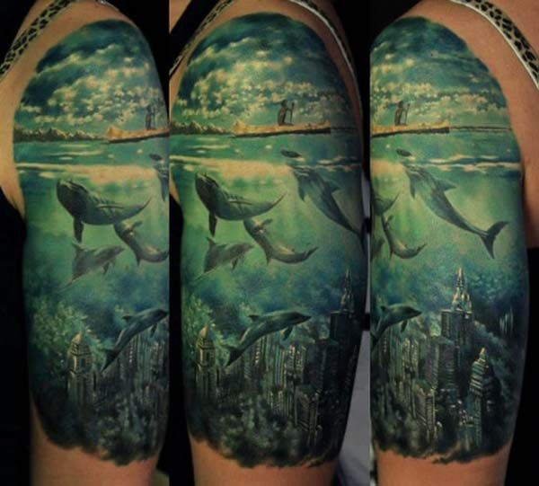 25 best ideas about ocean life tattoos on pinterest sea for Inflictions tattoo covina ca