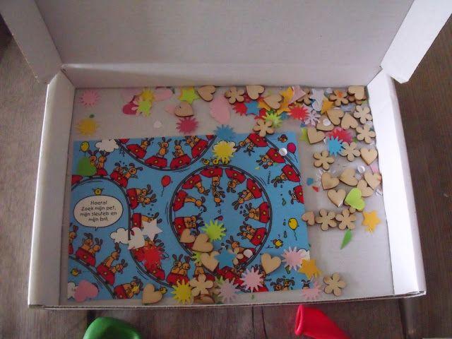 Creations by Corline: Verjaardagspostpakket - verjaardag - party - post - parcel - mail