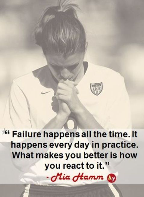 Mia Hamm... She was the best!