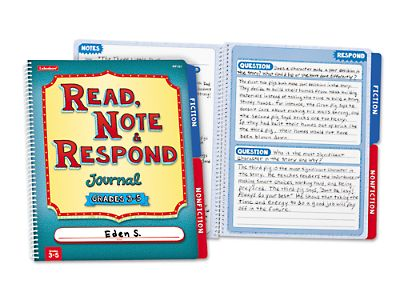 Read, Note & Respond Journal at Lakeshore Learning