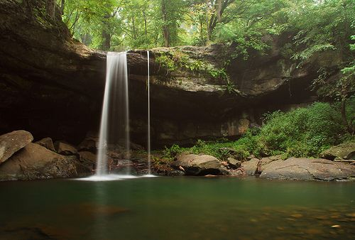 Buttermilk Falls, Beaver County Pa. by jim-dude, via Flickr