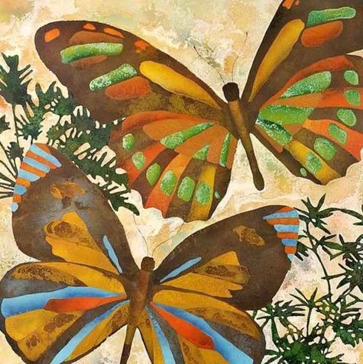 Pinturas de mariposas abstractas arte pinturas al leo for Imagenes de cuadros abstractos con relieve
