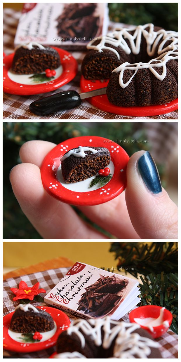Cakes, Chocolate, Christmas by *thinkpastel on deviantART
