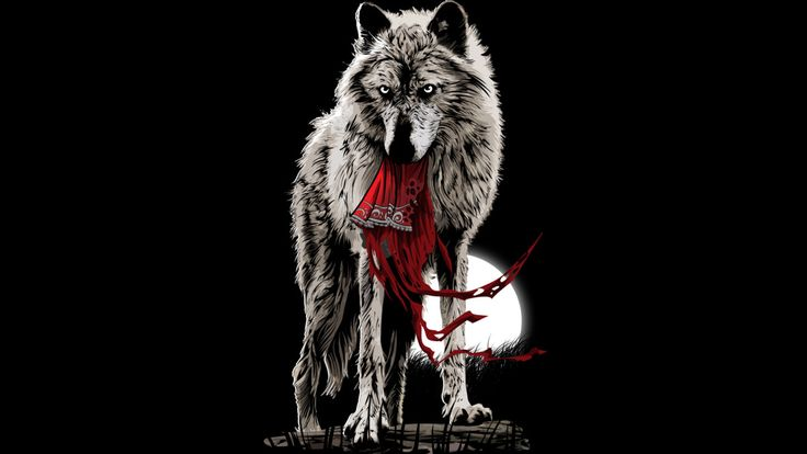 Grey Wolf is a T Shirt designed by artofkaan to illustrate your life and is available at Design By Humans