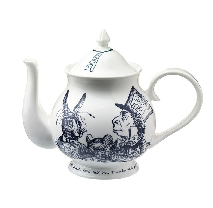 Buy the Alice in Wonderland Tea Party Teapot online, part of the eclectic, globally-inspired tableware selection available to purchase from Whittard of Chelsea.