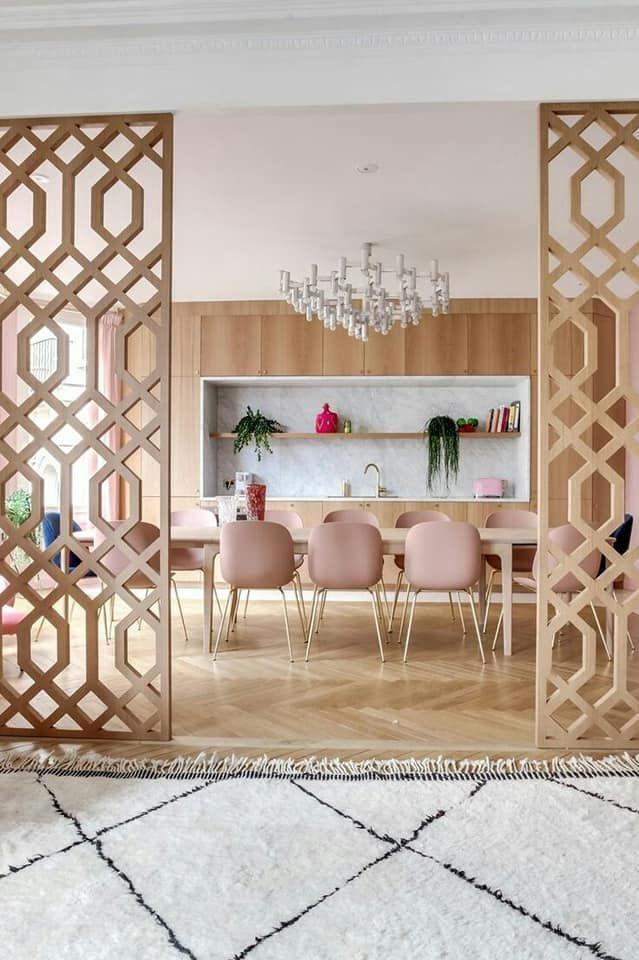 ديكورات فواصل بين الصالات والغرف Living Room Partition Design Home Room Design Living Room Partition