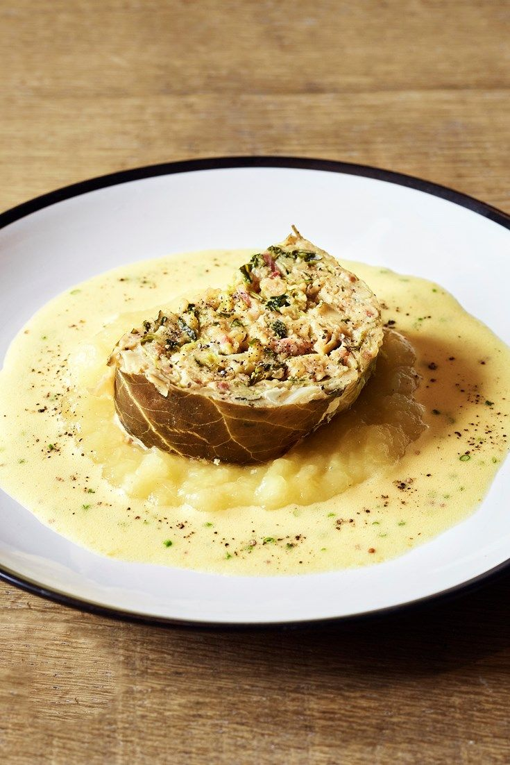 Bruno Loubet serves up a delightful speck-stuffed cabbage recipe, inspired by his journey to South Tyrol.