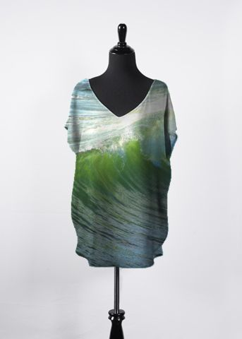 Silk Square Scarf - A Light in the Forest by VIDA VIDA By6cm