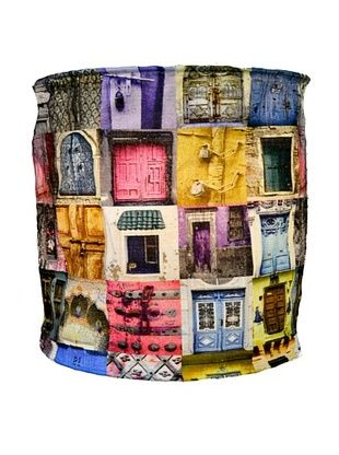 37% OFF Modelli Creations Journey Of India Blue & Pink Door Lamp Shade
