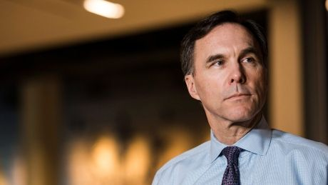 Canada won't act in 'impulsive way' in response to U.S. tax cuts: Morneau