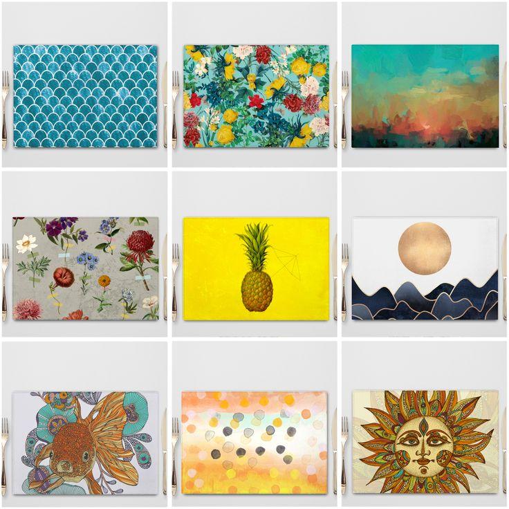 Summer Placemats / Verano / Individuales de Ecocuero