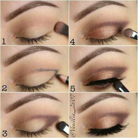 How To: Step By Step Eye Makeup Tutorials