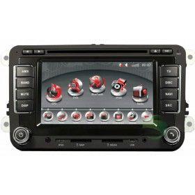Tableau de Bord voiture DVD système navigation GPS stéréo pour Volkswagen Caddy avec Radio TV Bluetooth Ipod-1