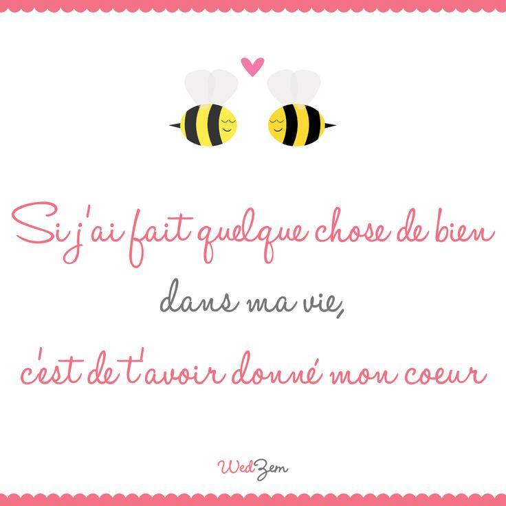 Bien connu 173 best Citations d'amour ❤ Love quotes images on Pinterest  MZ91