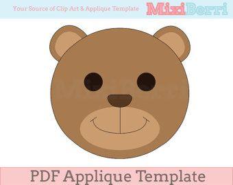Miss Owl Applique Template PDF Animal Applique by MixiBerri
