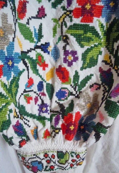 Ukrainian embroidery, Украинская вышивка, Українська вишивка. Українська…