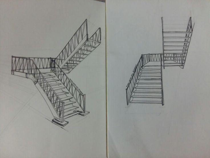 Latihan UTS (tangga kantin FE)